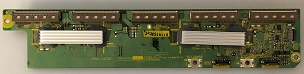 Panasonic TXNSD1ECUU (TNPA4791) SD Board Lower Scan Drive TC-54PS14 TC-P54G10 TC-P54S1