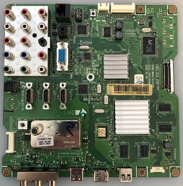 Samsung BN94-02856A  Main Board for PN58B650S1FXZA